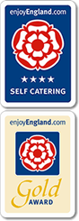 Enjoy England - 5 Star Self Catering / Enjoy England - Gold Award